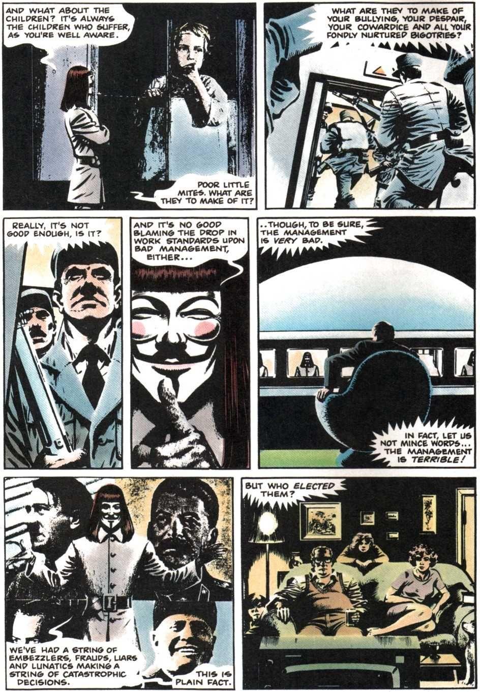 V For Vendetta V For Vendetta Comic V For Vendetta Alan Moore Comics