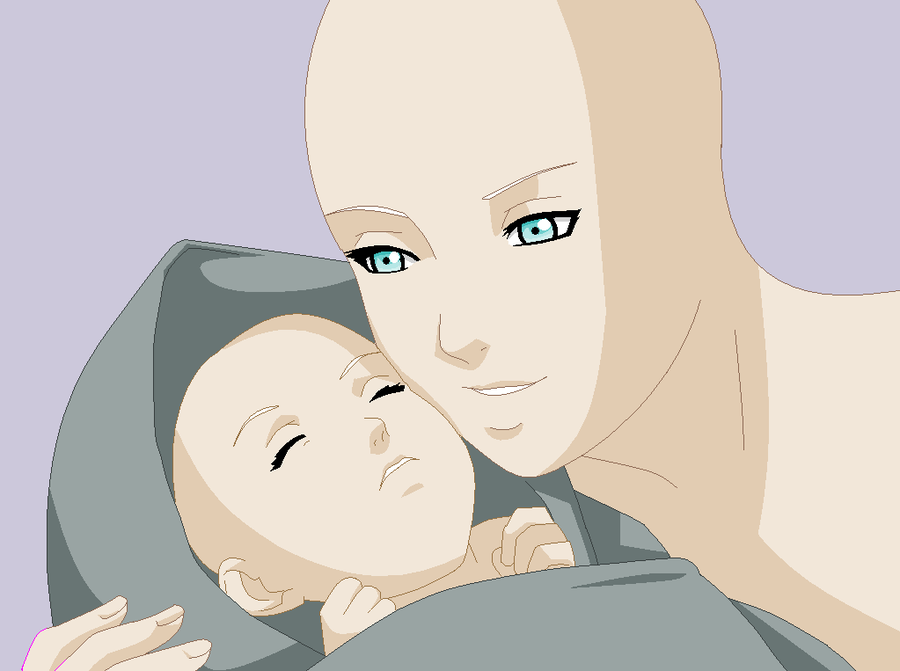 Mother And Child Base Request By Beyond Birthday 666 On Deviantart Best Anime Drawings Drawing Base Anime Poses Reference