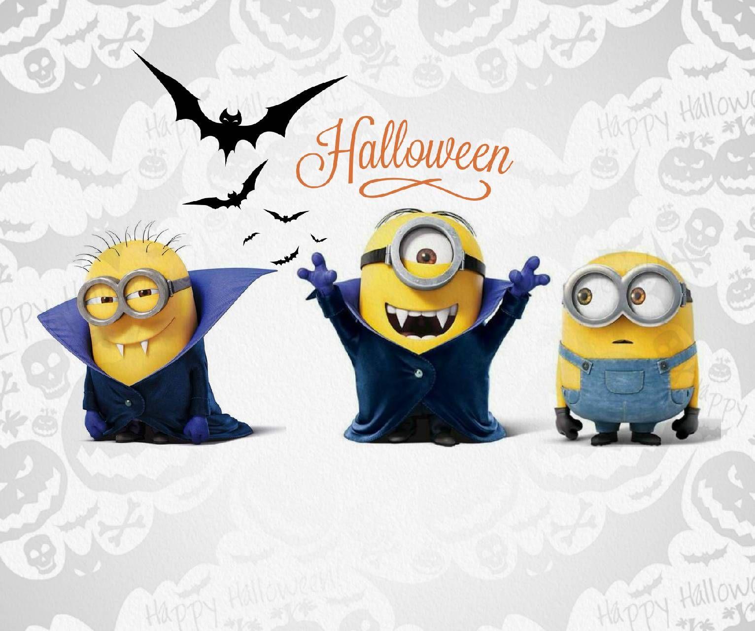 Download Halloween Minions Wallpaper By Agaaa K B3 Free On