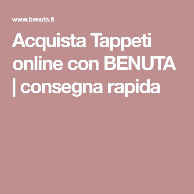 Acquista Tappeti online con BENUTA | consegna rapida | Arredamento ...