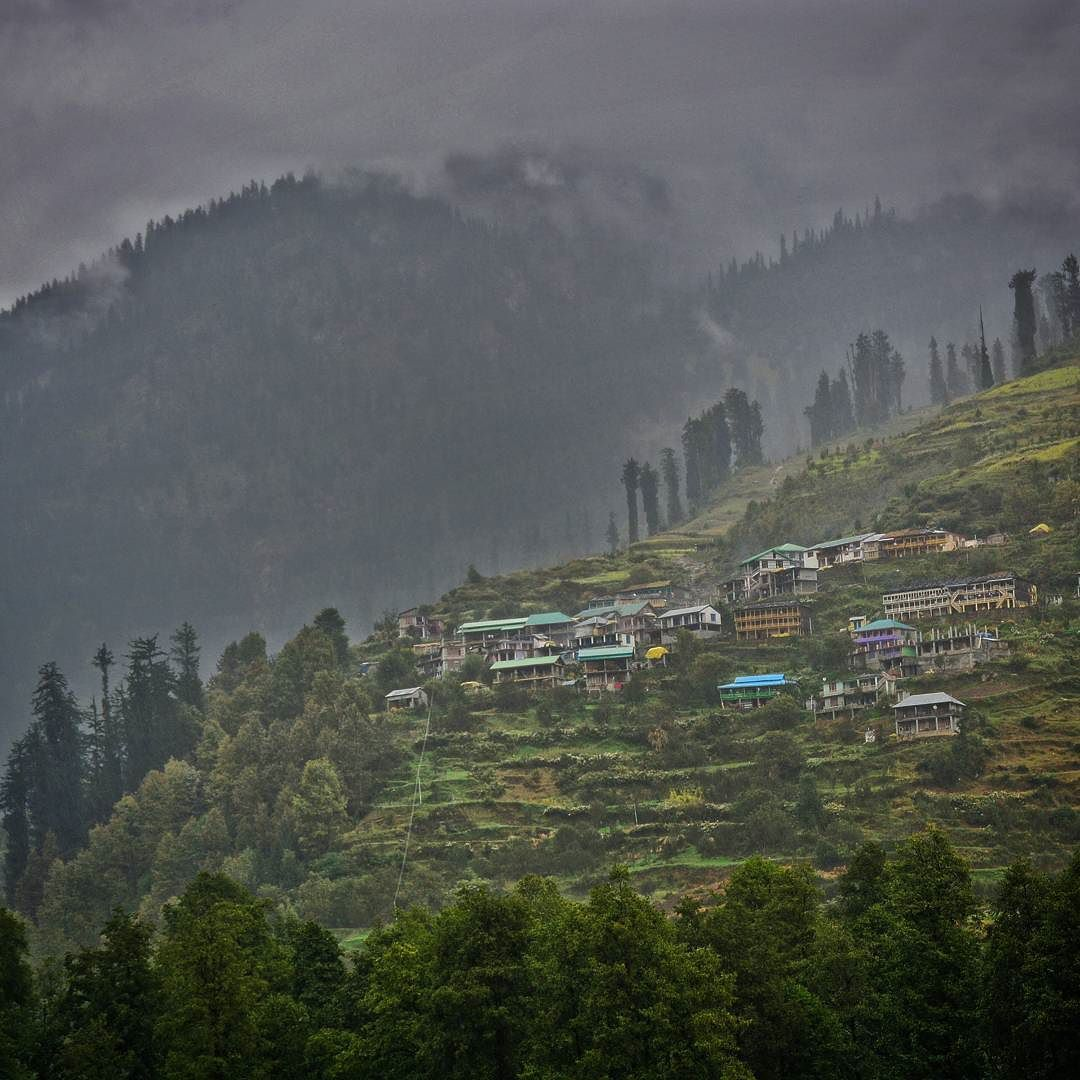 Enjoy The Beautiful View Of Solang Village In Solang Valley Manali