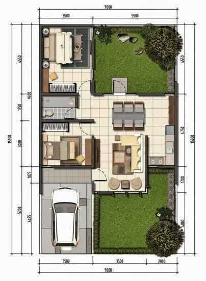 Pin de sergio ramiro chavez espina en proyecto casa en for Disenos de casas pequenas de una planta
