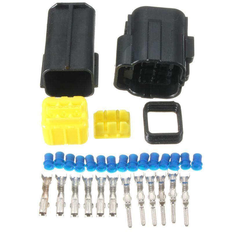 2/3/4/6 Pin 2/3/4/6 Way Sealed Waterproof Automotive
