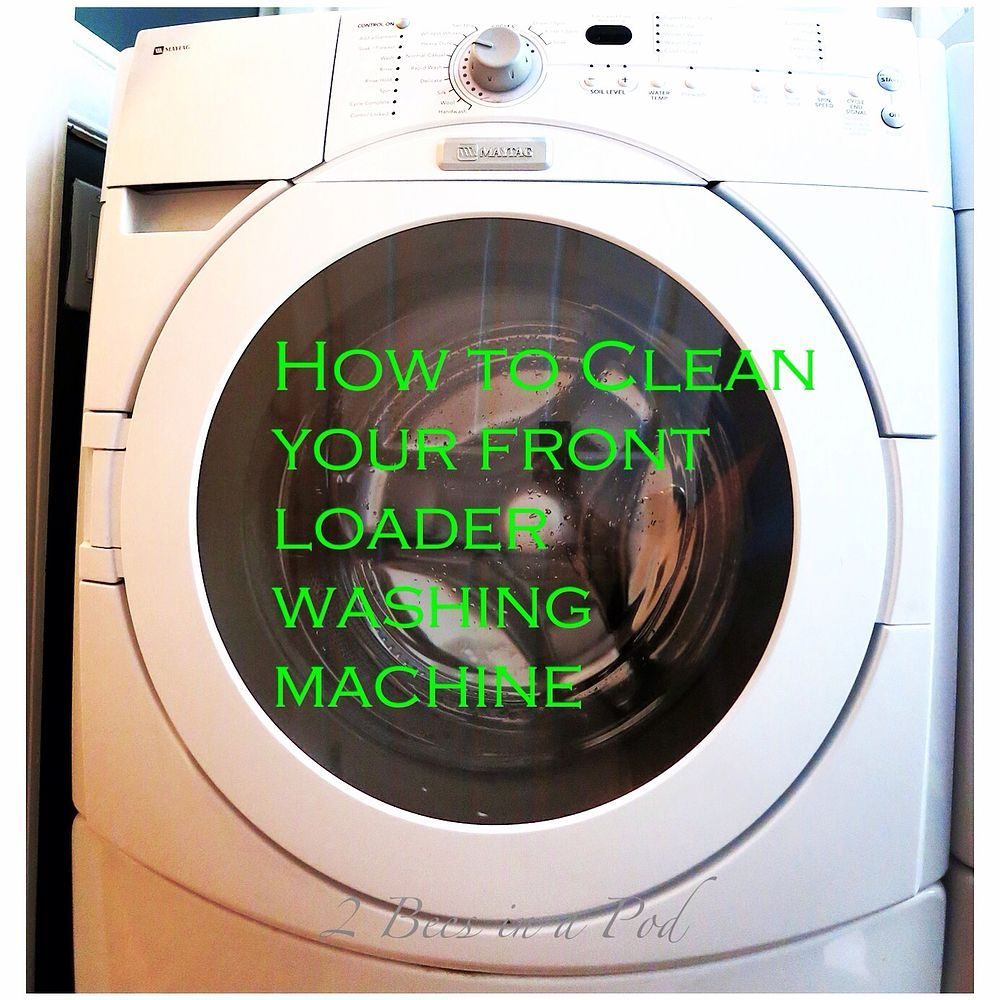 How To Clean Your Washing Machine Washing Machine Clean Washing