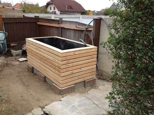 Raised Bed Like Our Balcony Railing Modern Garden Design Raised Garden Beds Outdoor Decor