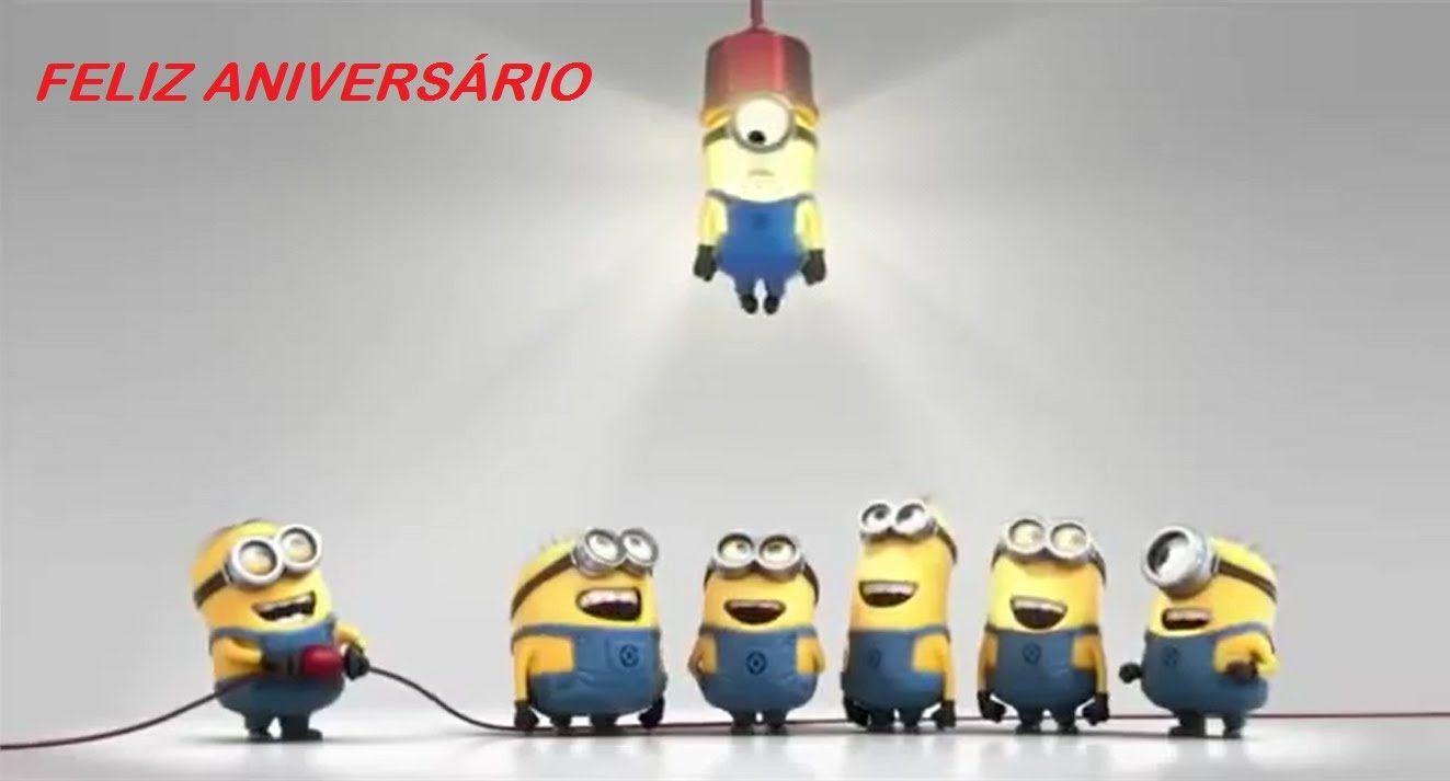 Mensagem De Aniversário Engraçado Para Amiga: Feliz Aniversário Minions