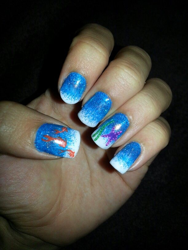 Under the sea nails..