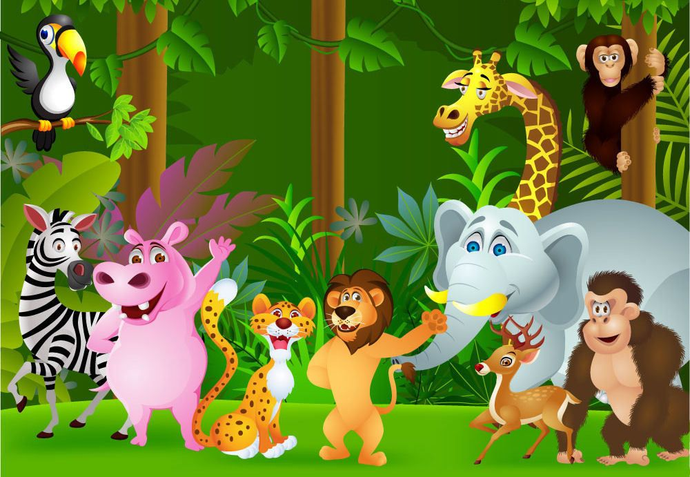 Forest Animals Cartoon Images