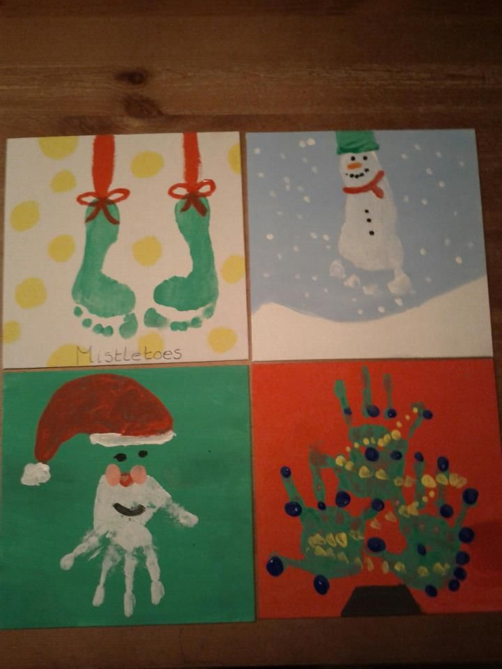 Christmas Painting Baby Christmas Crafts Christmas Paintings Preschool Christmas