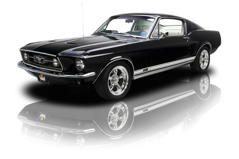 1967 Ford Mustang Gt Black Ford Mustang Shelby Ford Mustang
