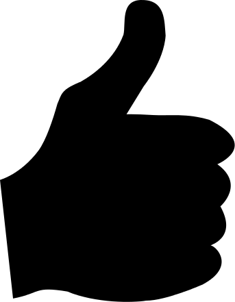 Thumb Up Side View Image Thumbs Up Clip Art