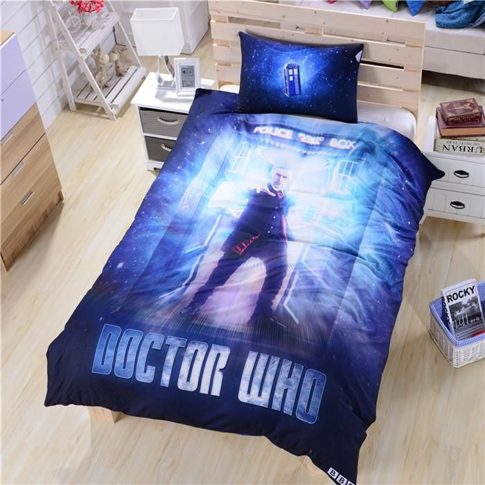 twin doctor who bedding bed sheets secret new unique bed sheet duvet cover twin full queen - Bed Set Queen