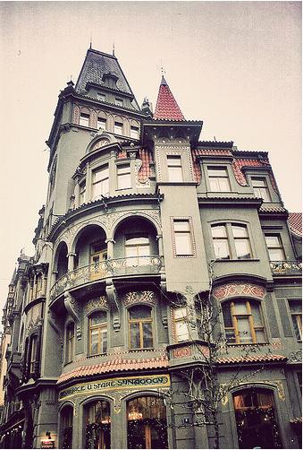 Amazing building in Prauge, Czech Republic