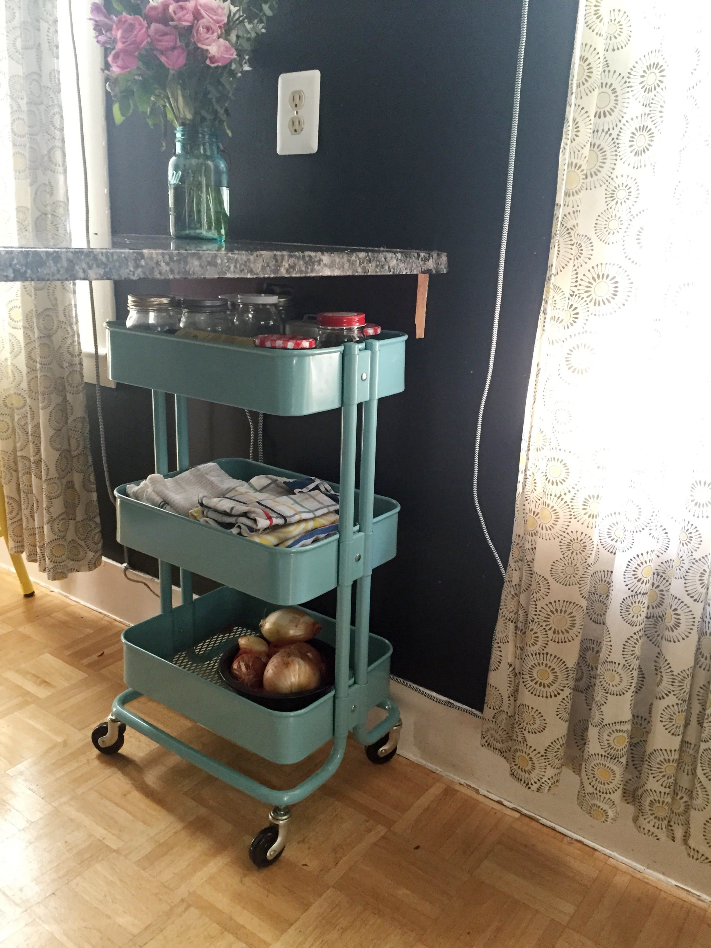The Best And Worst Things I Ve Ever Bought For My Kitchen Kitchen Furniture Storage Raskog Cart Kitchen Utility Cart