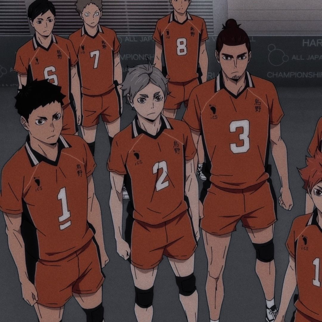 Matching Karasuno Icons In 2020 Haikyuu Anime Soul Haikyuu Anime