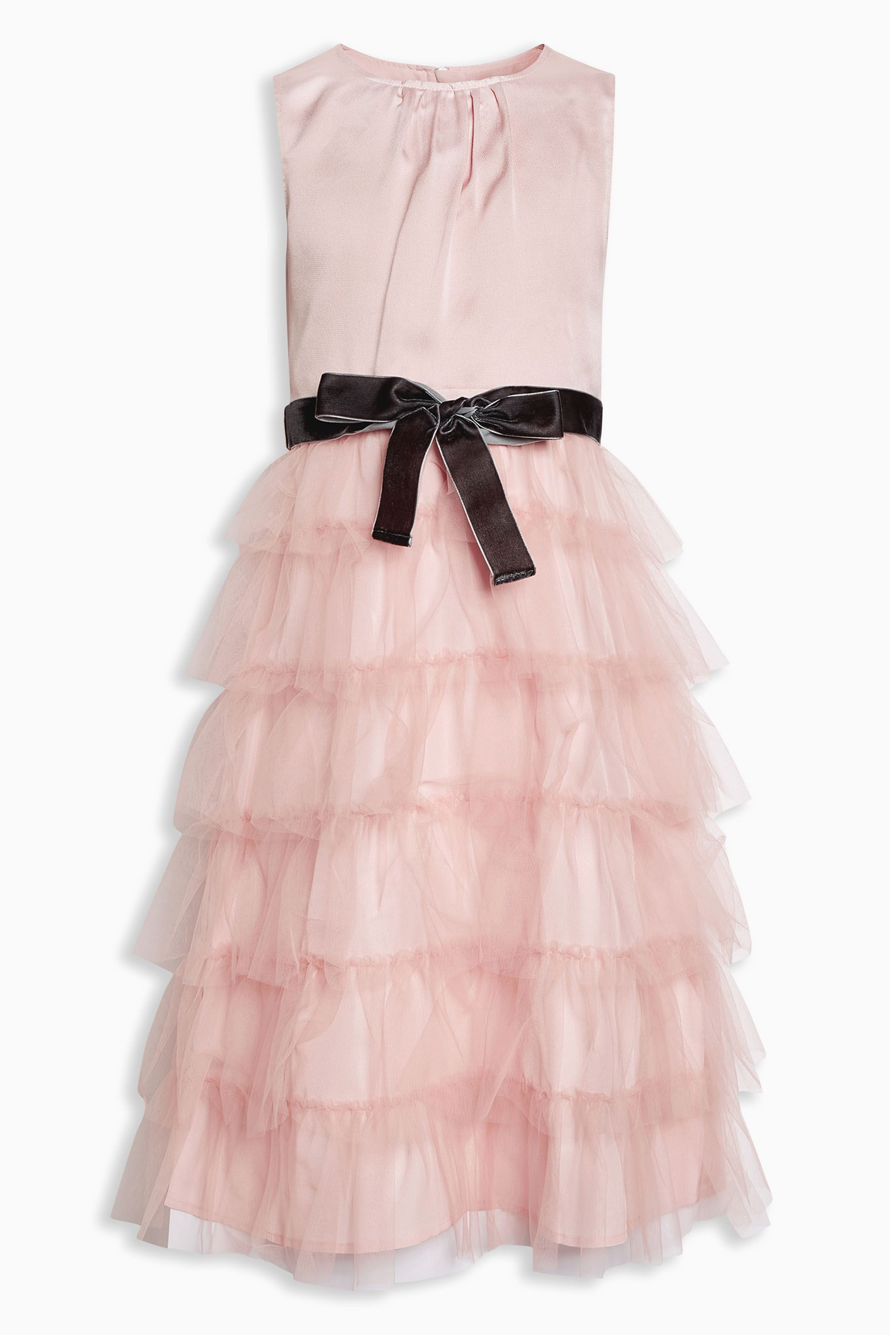 Buy Pink Tiered Party Dress (3-16yrs) from the Next UK online shop ...