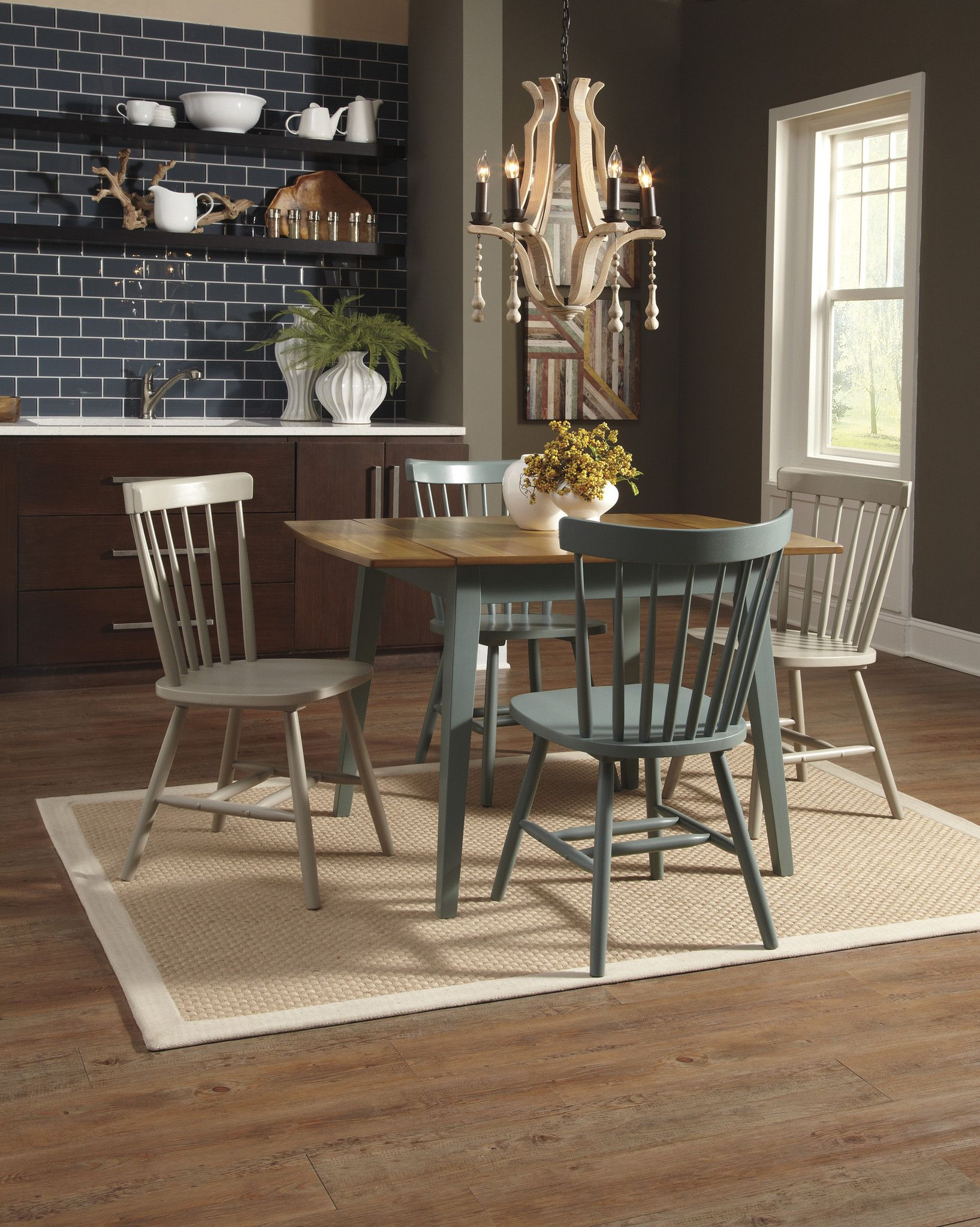 Bantilly RECT DRM Drop Leaf Table