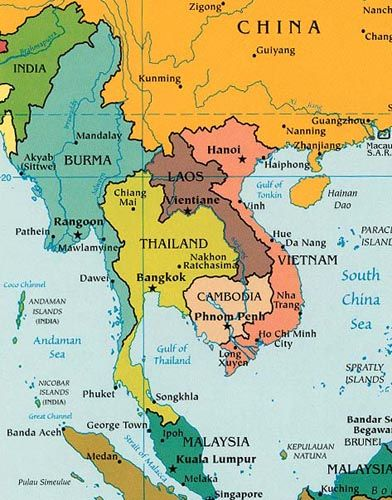 Map Of Asia During Vietnam War.Asia Continent 3 Places I Ve Been In 2019 Asia Map East Asia