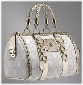 Versace Metallic Mongram bag (I'm lucky enough to have one, strongly recomend it, it's goregous but not very comfortable)