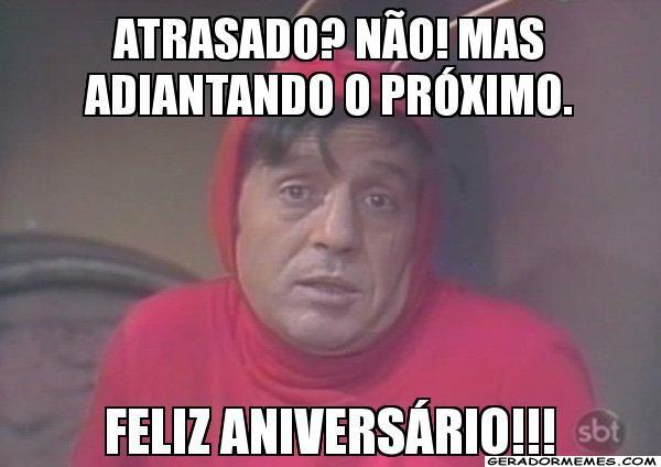 Pin De Tatiana Em Cartoes Frases Engracadas Para Whatsapp Aniversario Atrasado Engracado Aniversario Atrasado