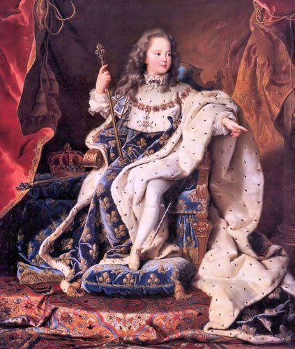 Louis Xv Crowned At The Age Of Five Louis Xiv Monarchy Historical Fashion