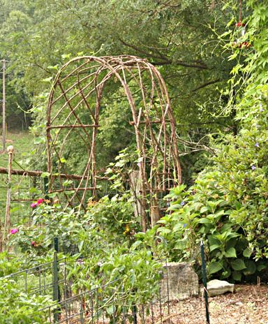 Bentwood Trellises For Your Garden With Images Garden Arches