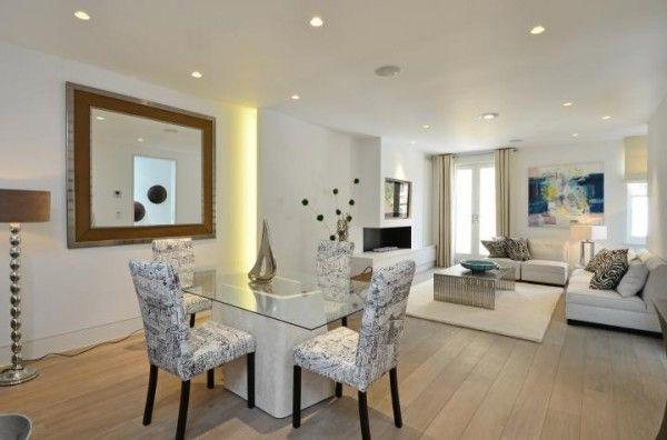 comedores minimalistas | Muebles | Living Room, Room y Dining room