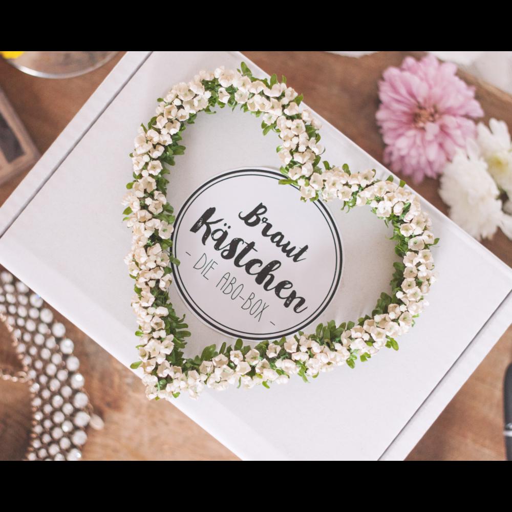 Hol Dir Brautkästchen, die Abo-Box für Deine Hochzeit. Wir begleiten Dich von…