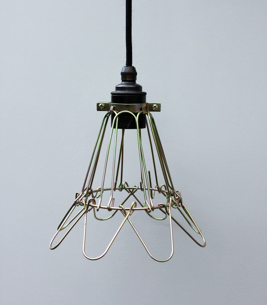 Light Cage, Vintage Industrial Cage Light, Lamp Guard, Inspection ...
