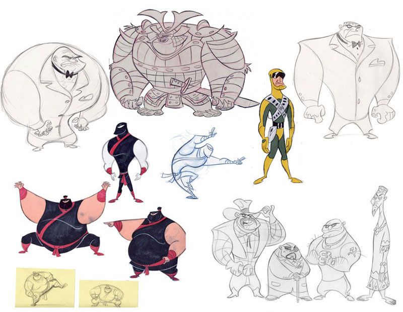 Character Design With Stephen Silver : Characters stephen silvers character design