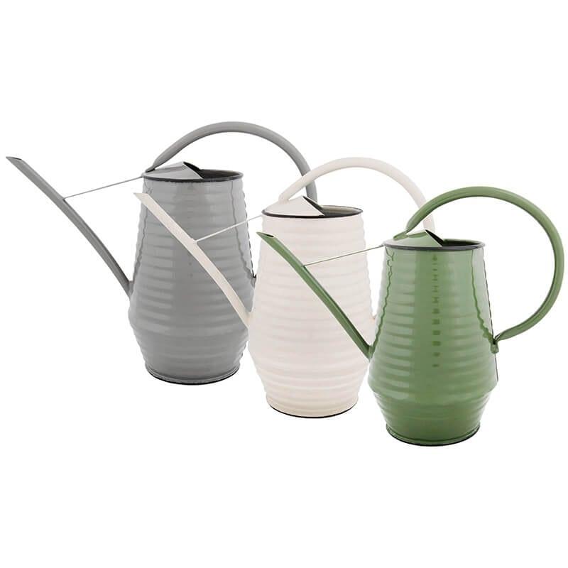 Tall Metal Indoor Watering Can 3 Asst Colors Esschert Design Usa Indoor Watering Can Watering Can Indoor Watering