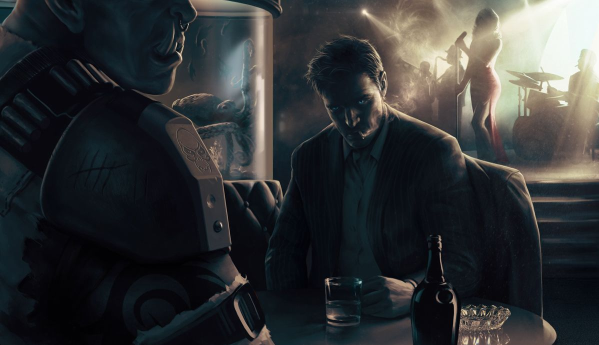 Shadowrun Noir by Jarow.deviantart.com on @deviantART ...