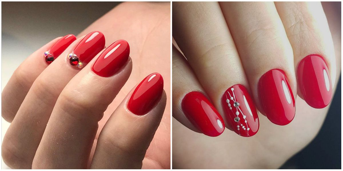 Top 4 Trendy Ways For Getting Red Nails 2020 37 Photos Videos