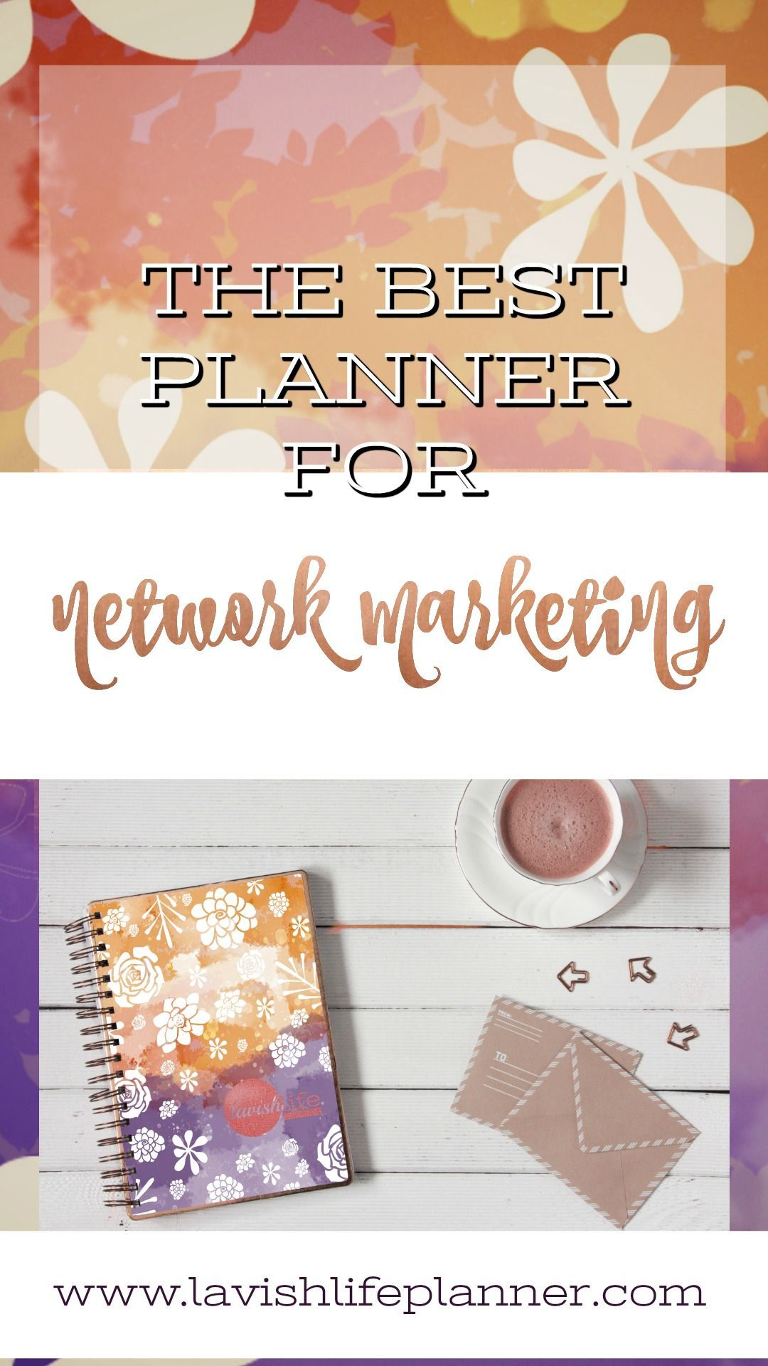 The Best Planner for Network Marketing Schedule Promos
