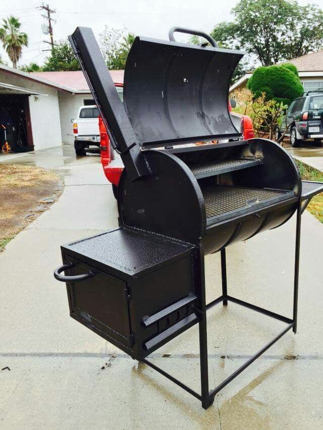 Mad bear bbq grills 55 gallon drum smoker bbq grill for Bbq designs and plans