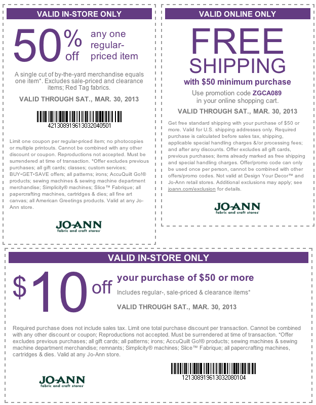 50 Off A Single Item And More At Jo Ann Fabric Coupon Via The Coupons App Coupon Apps App Coupons