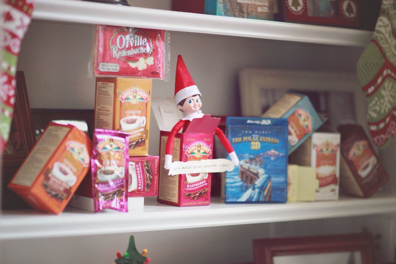Our elf on the shelf. Unique ideas for naughty or nice - when elf is ...