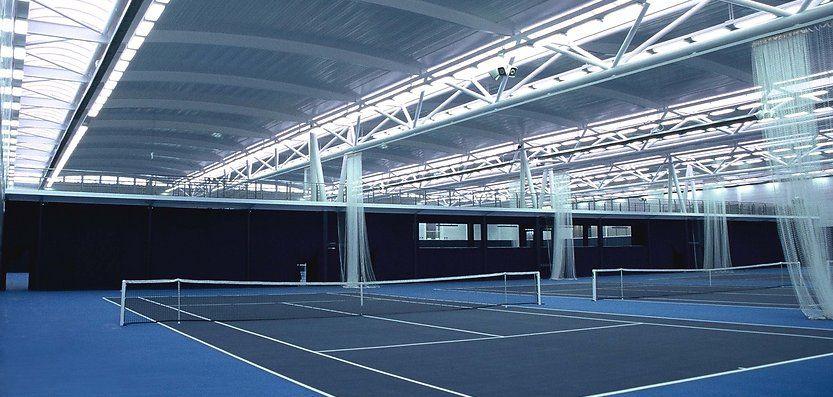 indoor tennis viewing Indoor Tennis Court of English