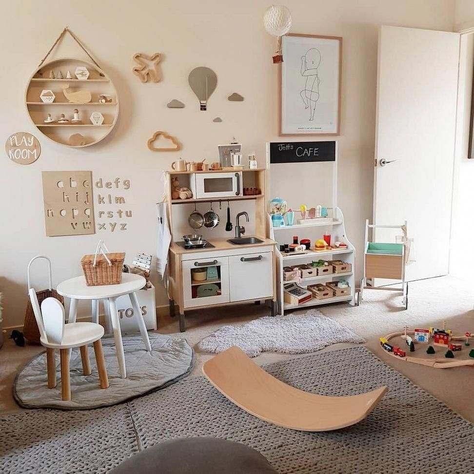 45+ Sweet Vintage Bedroom Ideas to Make Full Happy Childhood - Kolega Space #salledejeuxenfant