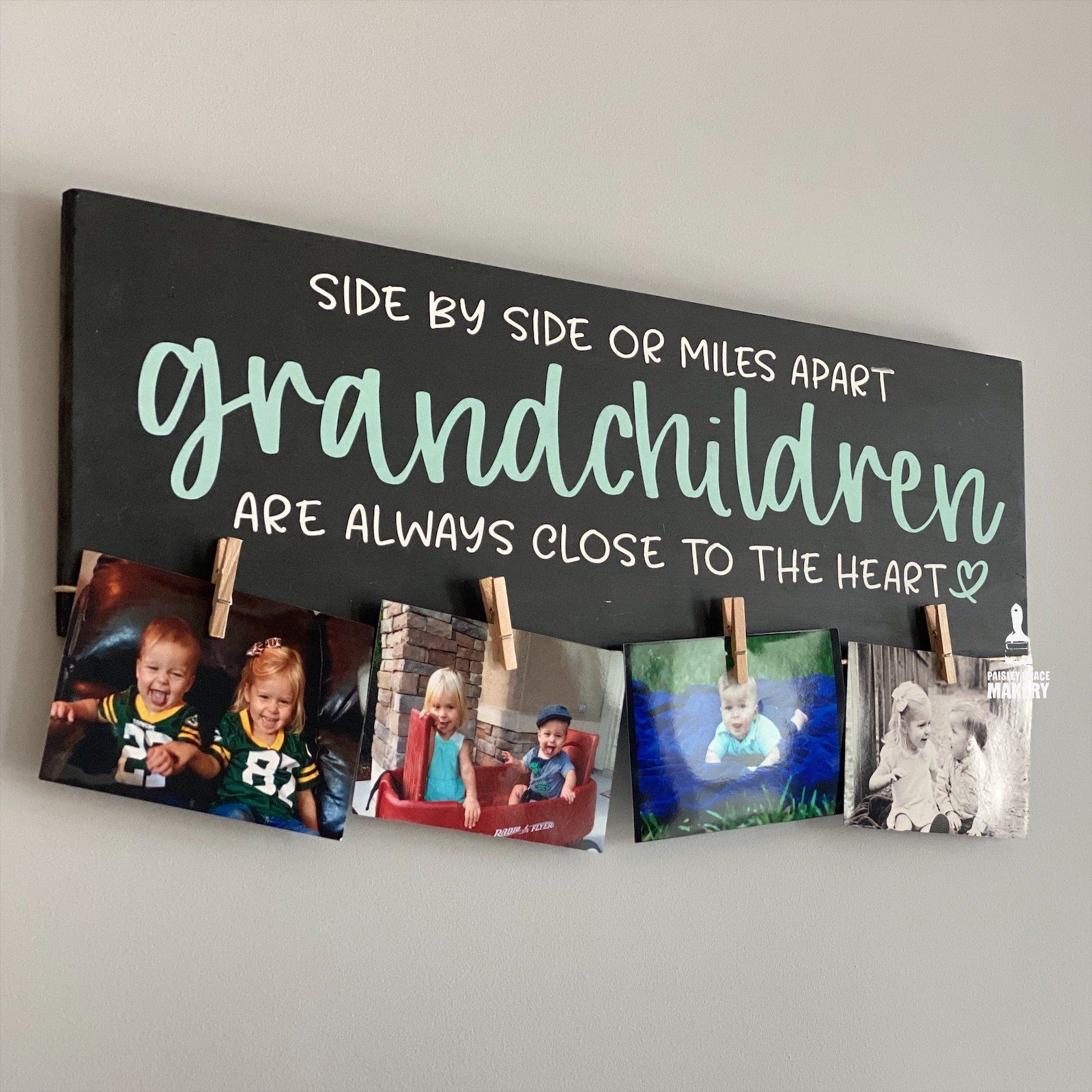 Photo of Side by Side or Miles apart Grandchildren: PLANK DESIGN – small plank