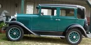 1929 Willys Overland Whippet Saloon Chassis No W50832 Engine No G37926 Willys Whippet Overlanding