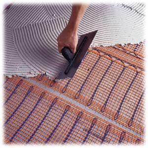 Installing radiant floor heat radiant floor cold feet for Warm toes radiant heat