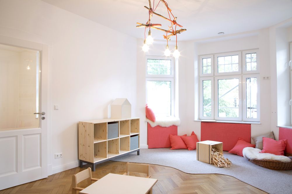 Gesammeltes Strandgut / Interior / Kita / Kindergarten