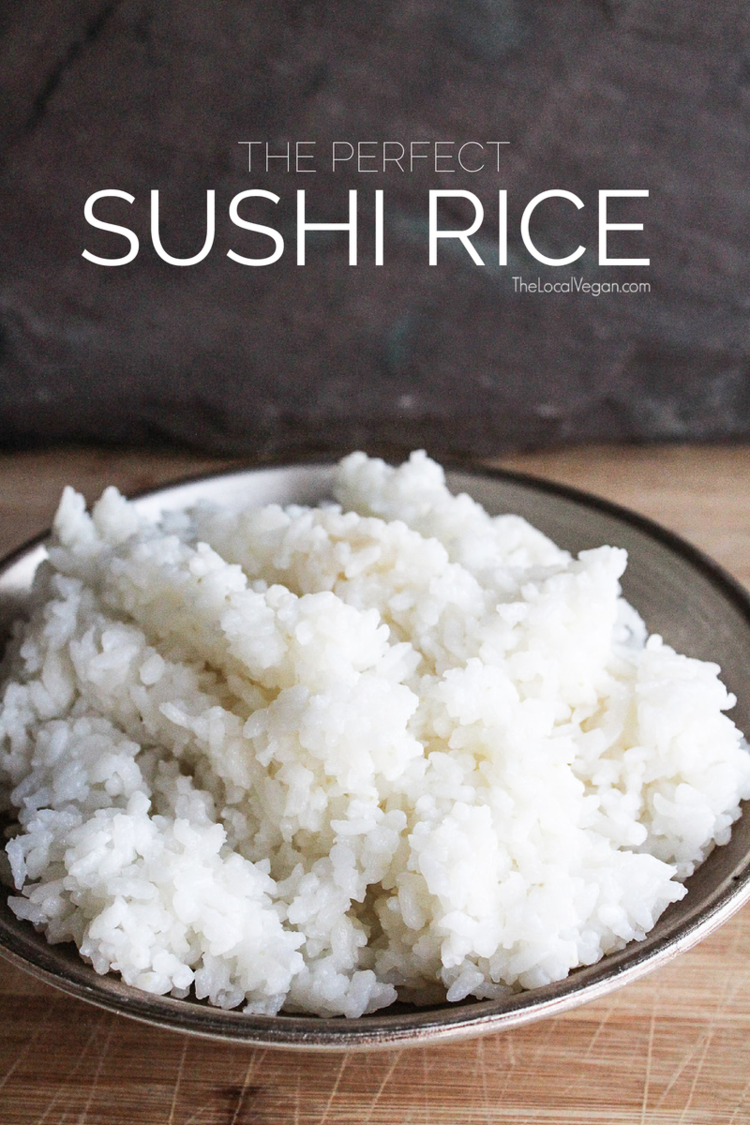 Sushi Rice * 2 cups of short grain rice * 2 tbsp rice wine ...