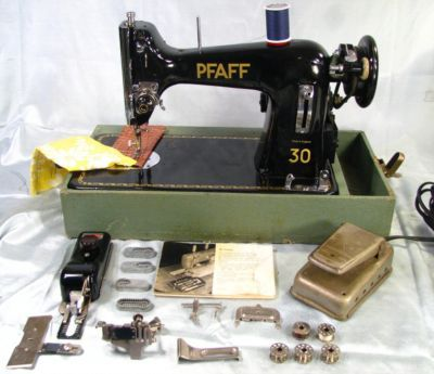 Vintage Pfaff 40 Heavy Duty Sewing Machine Serviced Antique Awesome Pfaff 30 Sewing Machine History