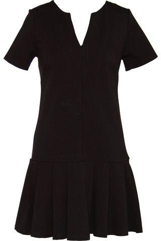 Drop-Waist Ponte Dress $109