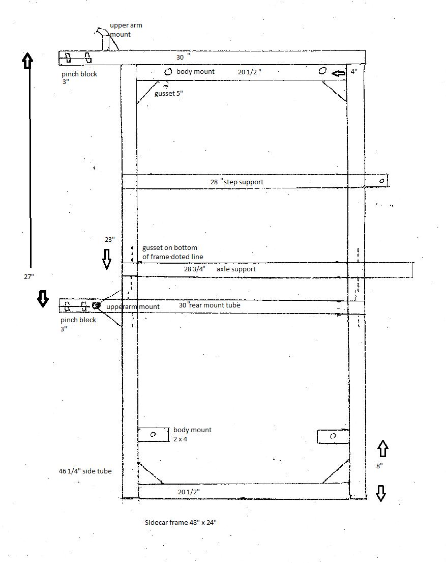 Cómo construir un marco de folletos Sidecar | moto | Pinterest ...