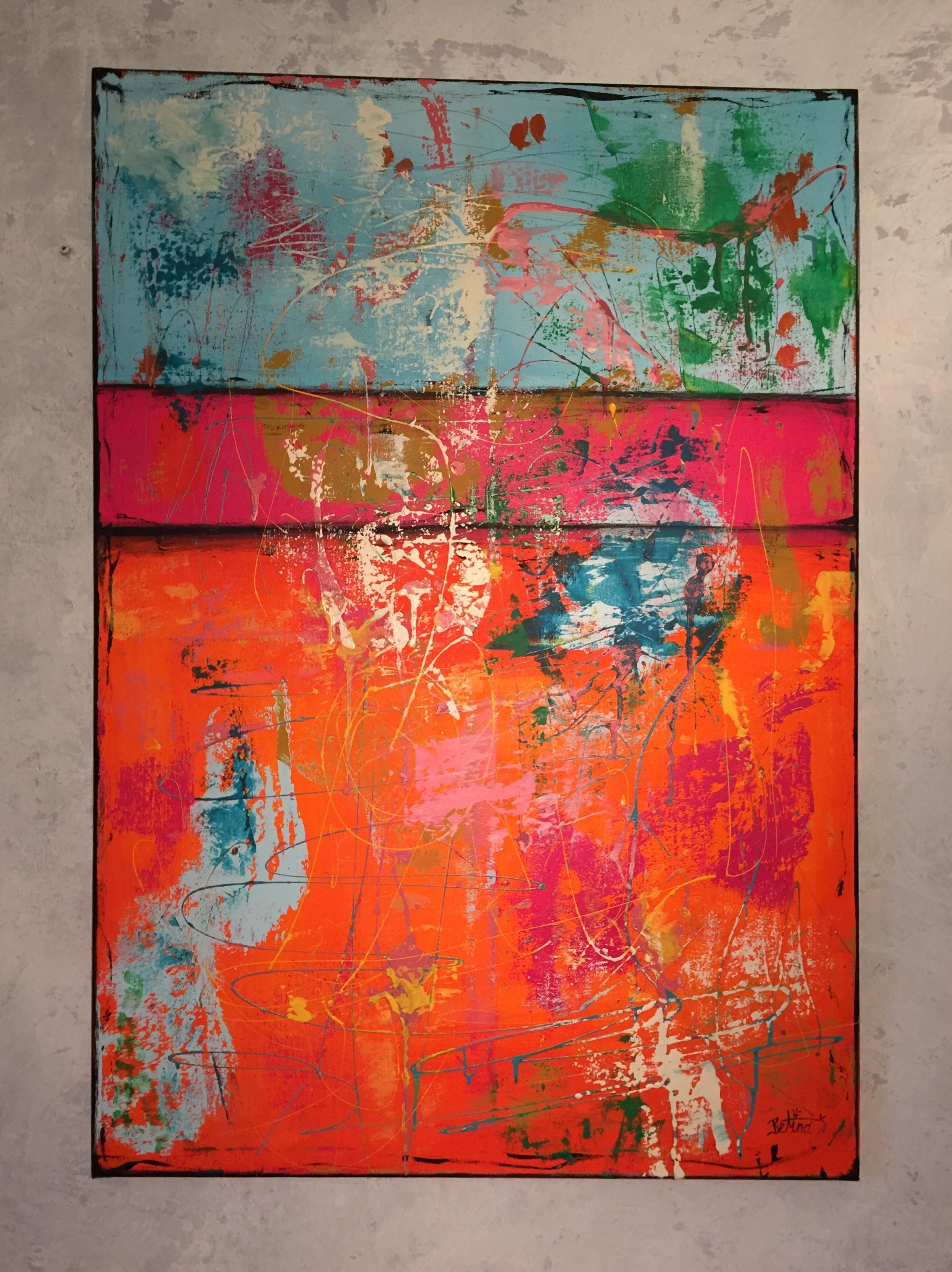 abstrakt malerei acryl auf leinwand 80x100 abstrakte acrylmalerei portraits künstler antje hettner bilder kaufen