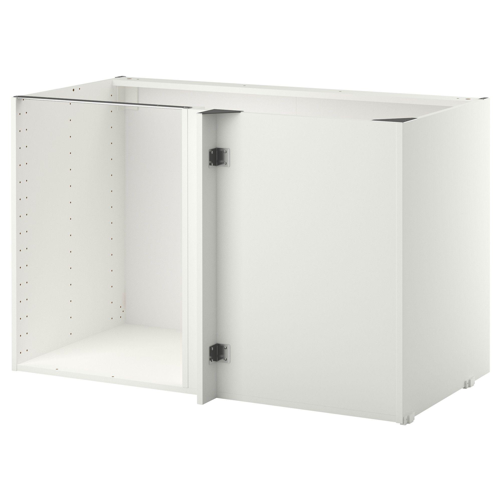 Metod Structure Element Bas D Angle Blanc 128x68x80 Cm Ikea Ikea Element Bas Blanc