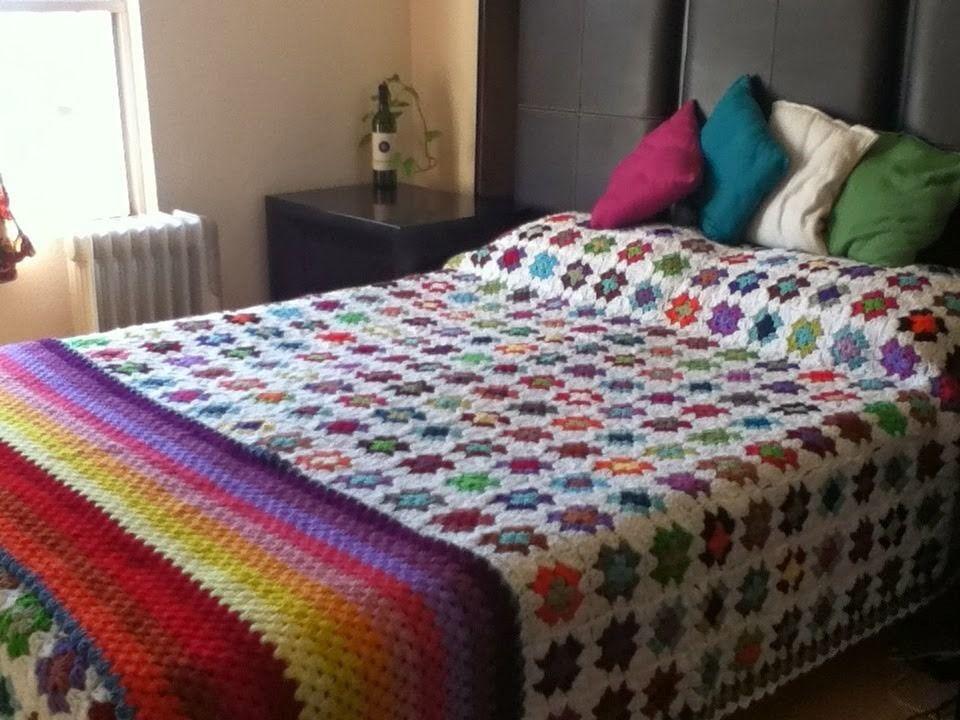 Colchas Al Crochet Tejidos Artesanales 500 00 En